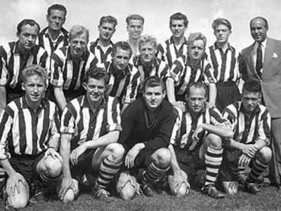 Køge Boldklub markerer 60 året for første DM-titel