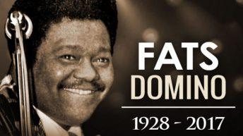 Fats Domino er død